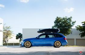 BMW 3 SERIES НА КОВАНЫХ ДИСКАХ VOSSEN LC-107