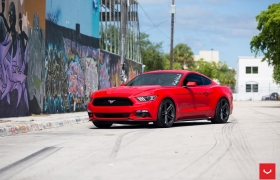 FORD MUSTANG - VOSSEN FLOW FORMED SERIES: VFS5