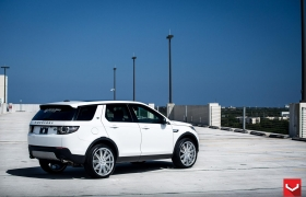 LAND ROVER DISCOVERY на дисках CV4