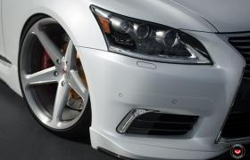 Lexus ls на кованых дисках vossen cg-201