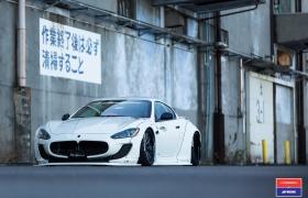 Maserati GranTurismo Liberty Walk | Vossen x Work Wheels | VWS-2