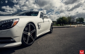 MERCEDES BENZ SL на дисках CV5