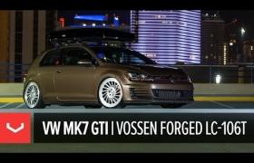 VW GTI НА КОВАНЫХ ДИСКАХ VOSSEN LC-106T