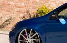 VW GOLF R на дисках CVT