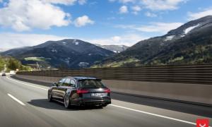 AUDI RS6 на дисках Vossen CVT