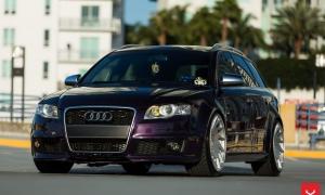 Audi RS4 Avant vossen wheels