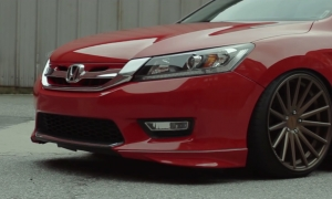 HONDA ACCORD на дисках VOSSEN VFS-2
