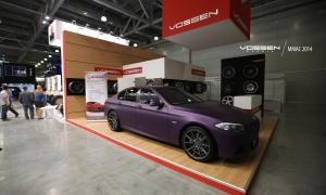 Vossen Wheels на выставке в Москве