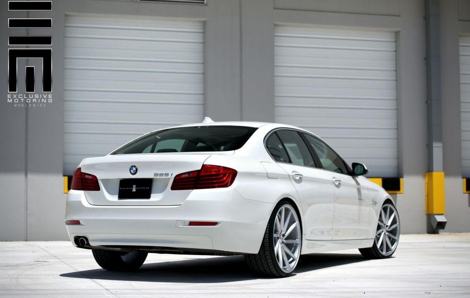 BMW 5 серии на дисках CVT