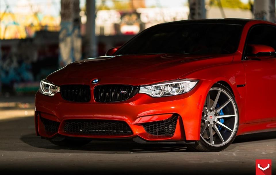 BMW M4 на дисках VPS-310