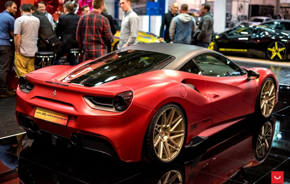 FERRARI 488 GTB ON VPS-314T WHEELS