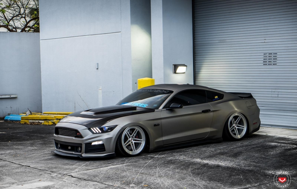 """Roush Ford Mustang GT   """"Rowdy Roush""""   Vossen Forged LC-102"""