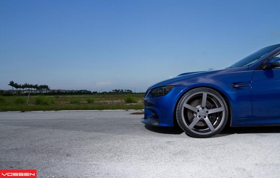 BMW 3 серия на дисках Vossen CV3