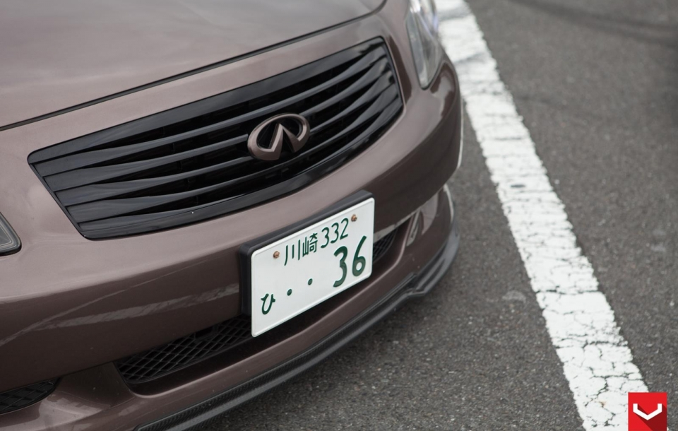 INFINITI G37 на дисках CV5