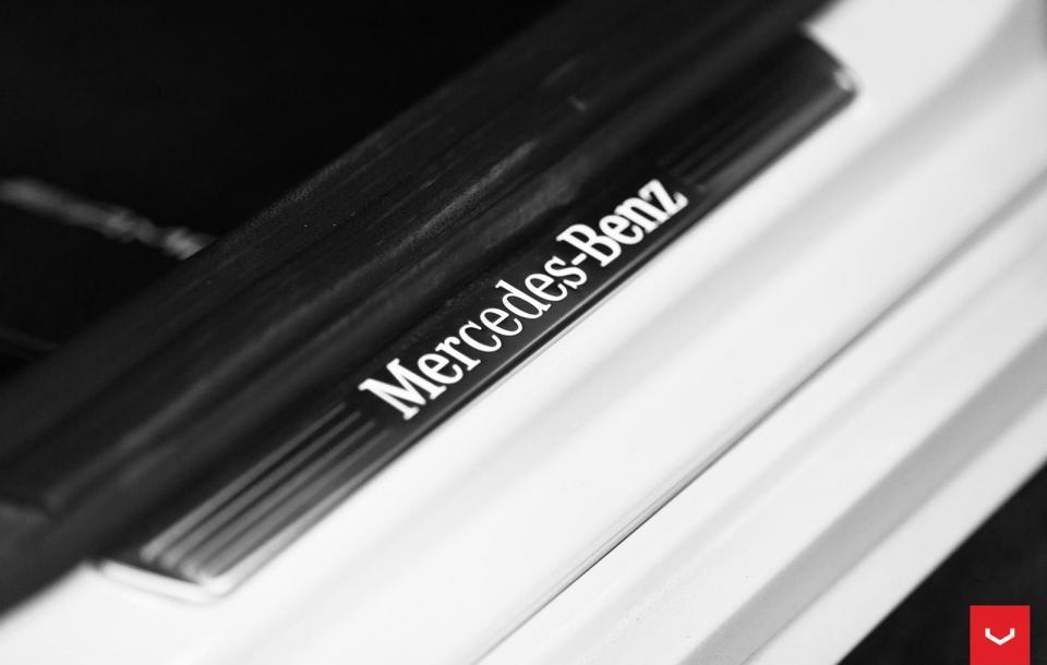 MERCEDES BENZ A45 AMG на дисках VFS2