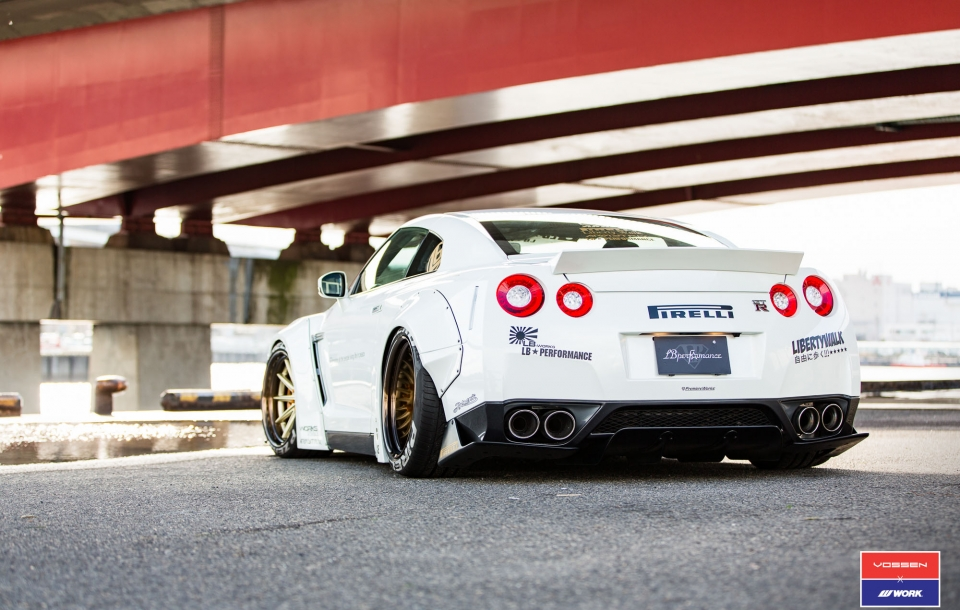 Nissan GT-R Liberty Walk | Vossen x Work Wheels | VWS-1