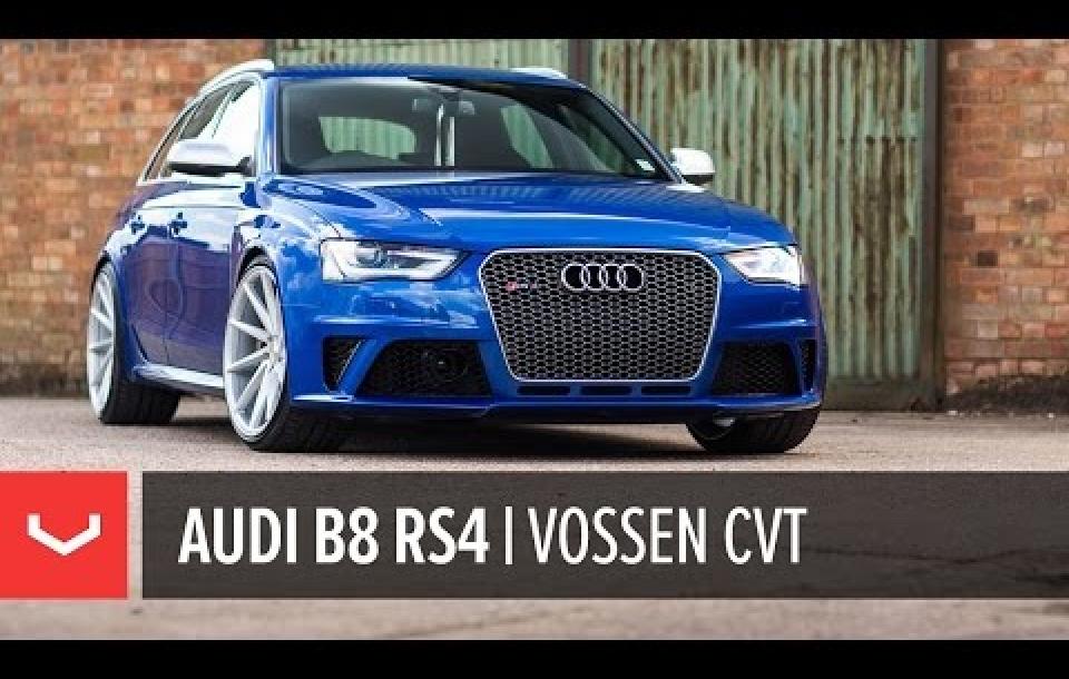 AUDI RS4 на дисках CVT