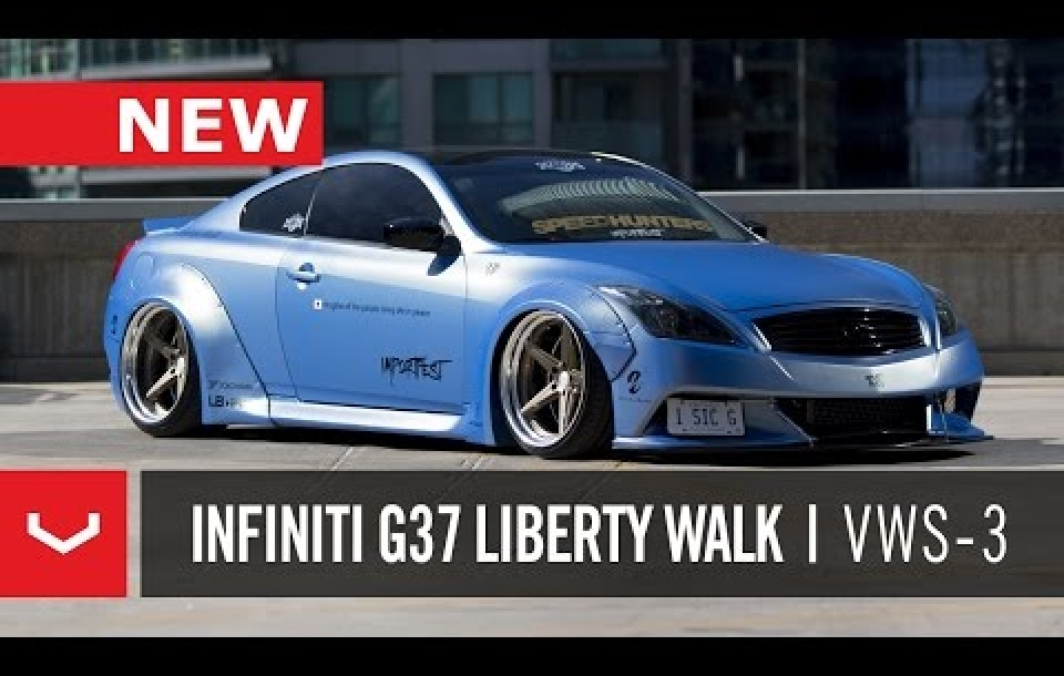 INFINITI G37 - VOSSEN X WORK SERIES: VWS-3