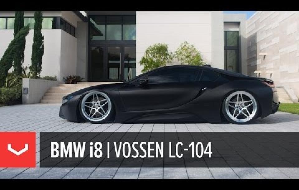 BMW I8 НА КОВАНЫХ ДИСКАХ VOSSEN LC-104