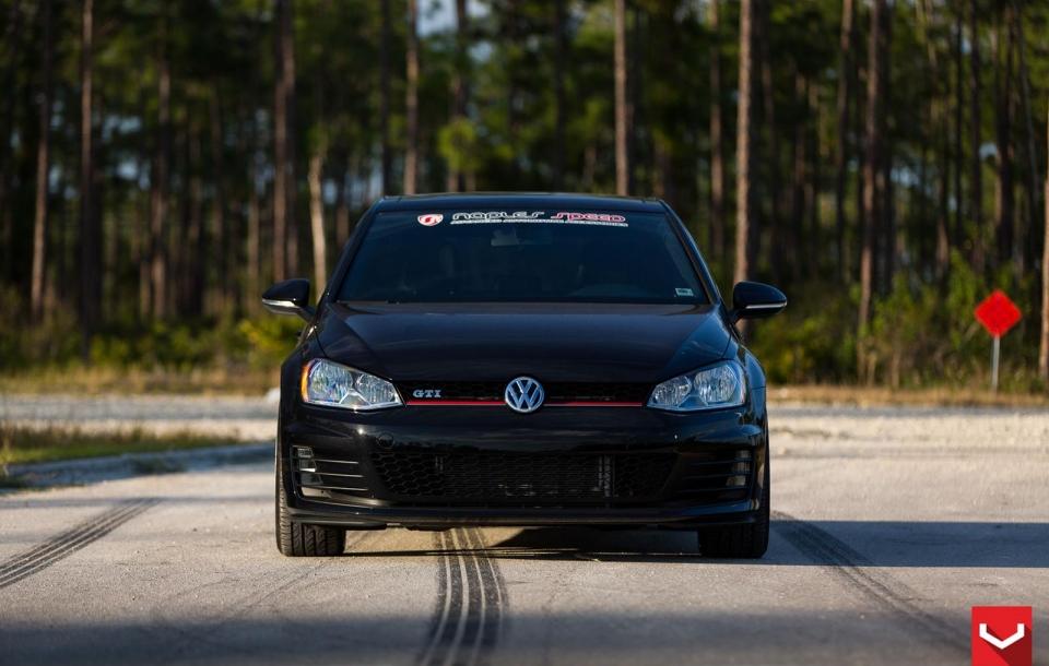 VW GTI на дисках CVT