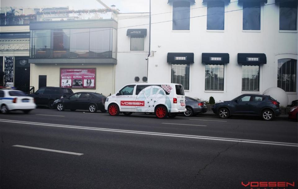 VW T5 на дисках CV4