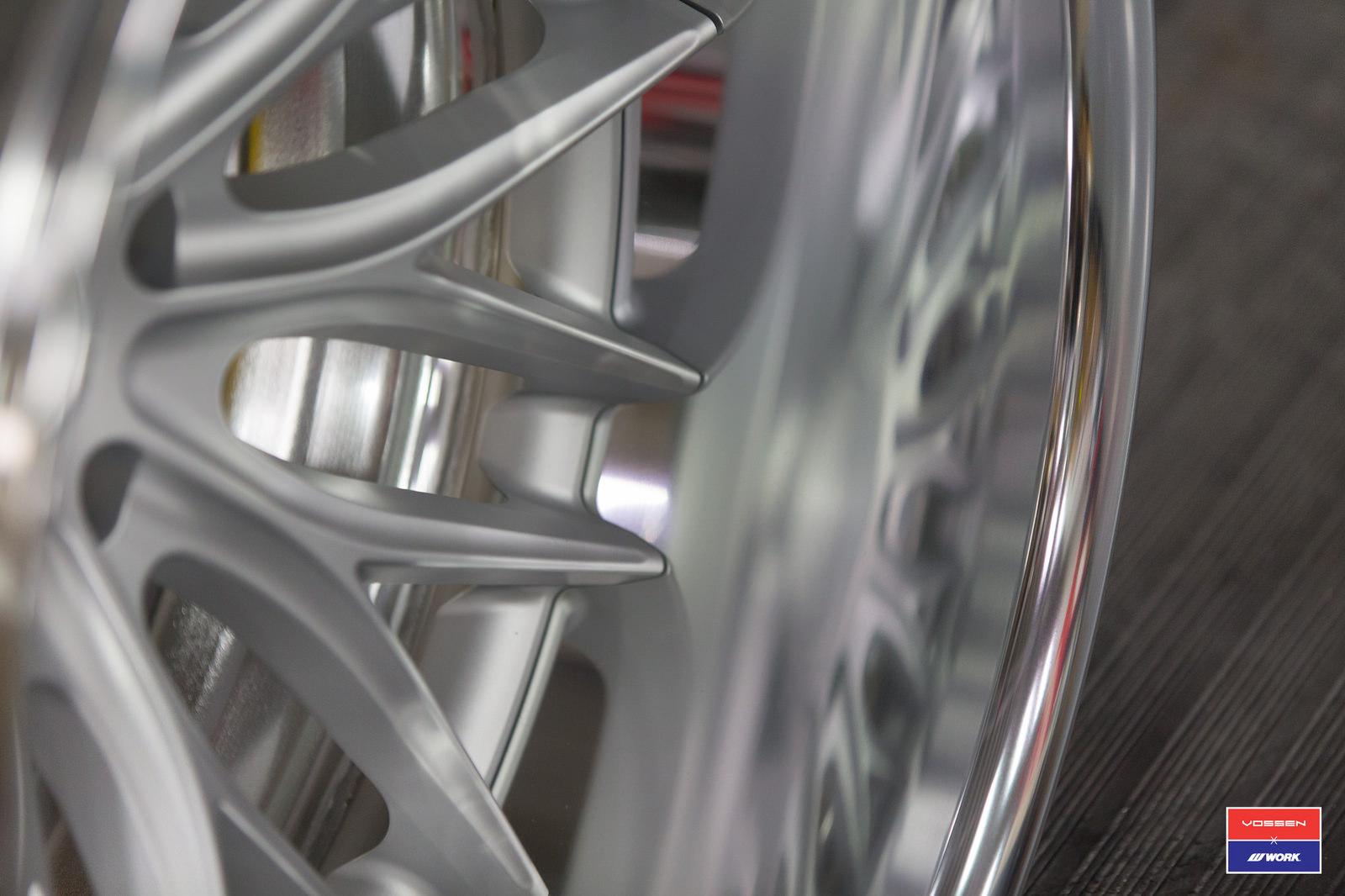 КОВАНЫЕ ДИСКИ VWS-2 ИЗ СЕРИИ VOSSEN X WORK